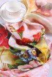 Lubricación exquisita de la seda fina Fotos de archivo libres de regalías