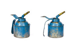 Lubricant oil in pot Stock Photography