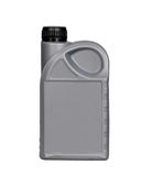 Lubricants bottle. Isolated one liter lubricants bottle in white background stock photos