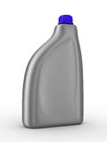 Lubricating oil bottle on white background Royalty Free Stock Image