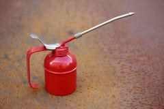 Lubrificatore rosso Fotografia Stock Libera da Diritti
