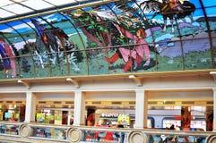 Lubyanka的,莫斯科中央儿童商店 图库摄影
