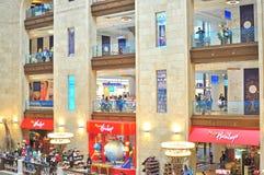 Lubyanka的,莫斯科,俄罗斯中央孩子商店 免版税库存图片