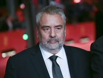 Luc Besson atende ao ` de Eva do ` Imagem de Stock