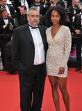 Luc Besson & Virginie Besson Royalty Free Stock Image