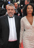 Luc Besson & Virginie Besson Royalty Free Stock Photo