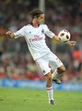 Luca Antonini player of AC Milan Royalty Free Stock Images