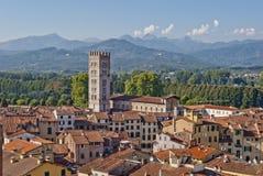 Luca, Italië stock foto