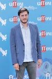 Luca Marinelli no festival de cinema 2016 de Giffoni Imagens de Stock