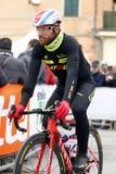 Luca Paolini Team  Katusha Royalty Free Stock Photography