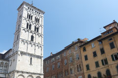 Luca (Toscanië, Italië) Stock Afbeelding
