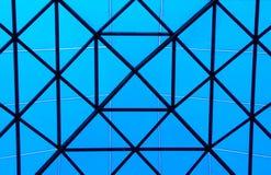 Lucarne bleue Photographie stock