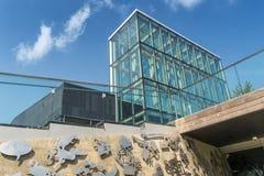 Lucarne de bibliothèque de Boisé Photos libres de droits