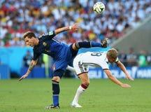Lucas Biglia and Toni Kroos Coupe du monde 2014 Stock Photos