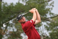 Lucas Glover, Tour Championship, Atlanta, 2006 Royalty Free Stock Image