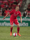 Lucas Leiva of Liverpool Stock Image