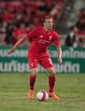 Lucas Leiva von Liverpool Stockbild