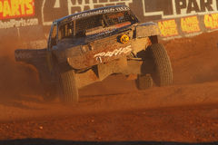 Lucas Oil Off Road Series (LOORS) Challenge Cup 2012. CHANDLER, AZ - OCT 28: Rob MacCchren (21) at speed in the Lucas Oil Off Road Series racing Challenge Cup on Stock Image