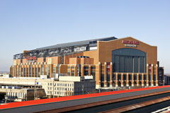 Lucas Oil Stadium Royalty Free Stock Image