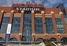 Lucas Oil Stadium Royalty Free Stock Photos