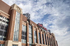 Lucas Oil Stadium in downtown of Indianapolis, Indiana Royalty Free Stock Image