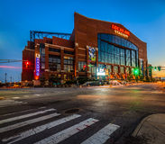 Lucas Oil Stadium Royalty Free Stock Images