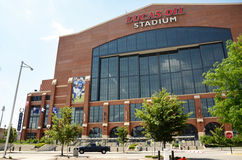 Lucas Oil Stadium, Indianapolis Royalty Free Stock Images