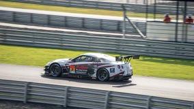 Lucas Ordonez av NDDP RACING i kategori för GT300 Qualiflying på 20 Royaltyfri Fotografi