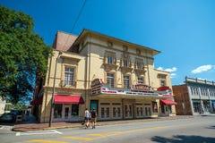 Lucas Theatre on Abercorn Street in the historic downtown Savann Stock Photo