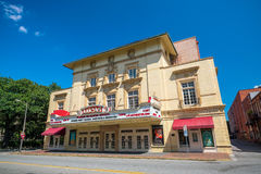 Lucas Theatre on Abercorn Street in the historic downtown Savann Stock Images
