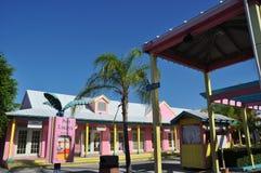 Lucaya portuario en Bahamas Imágenes de archivo libres de regalías