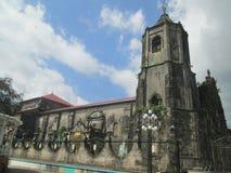 Lucban kyrka fotografering för bildbyråer