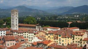 Lucca全景  免版税图库摄影