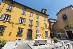Lucca (Τοσκάνη, Ιταλία) Στοκ Φωτογραφία