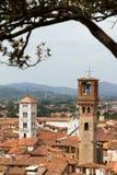 Lucca塔 免版税图库摄影