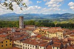 Lucca Fotografie Stock Libere da Diritti