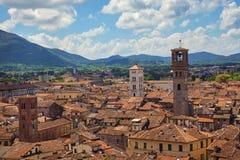 Lucca lizenzfreies stockfoto