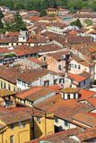 Lucca aerial view Stock Images