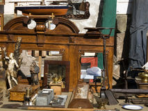 Lucca - Antique market Royalty Free Stock Photography