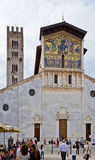 Lucca Basilica of San Frediano Stock Images