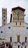 Lucca bazylika San Frediano Obrazy Stock