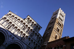 Lucca, the Cathedral Royalty Free Stock Image