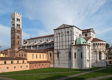 Lucca Cathedral Stock Photography