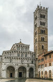 Lucca Cathedral, Italy Royalty Free Stock Photo