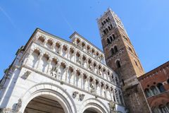 Lucca Cathedral Royalty Free Stock Photography