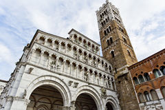 Lucca Cathedral of Saint Martin Stock Photography