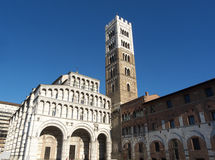 Lucca Cathedral Of St Martin Stock Image