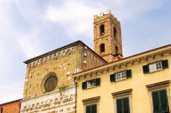 Lucca church Royalty Free Stock Image