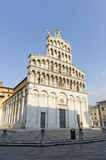 Lucca, church of San Michele in Foro Royalty Free Stock Photos