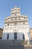 Lucca, church of San Michele in Foro Royalty Free Stock Images